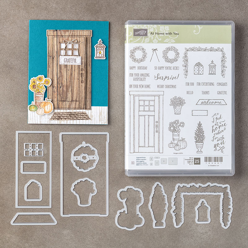 At Home With You Stamp Set + At Home Framelits Dies Bundle
