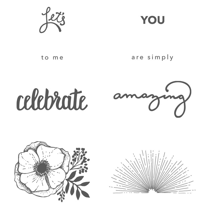 Amazing You Stamp Set
