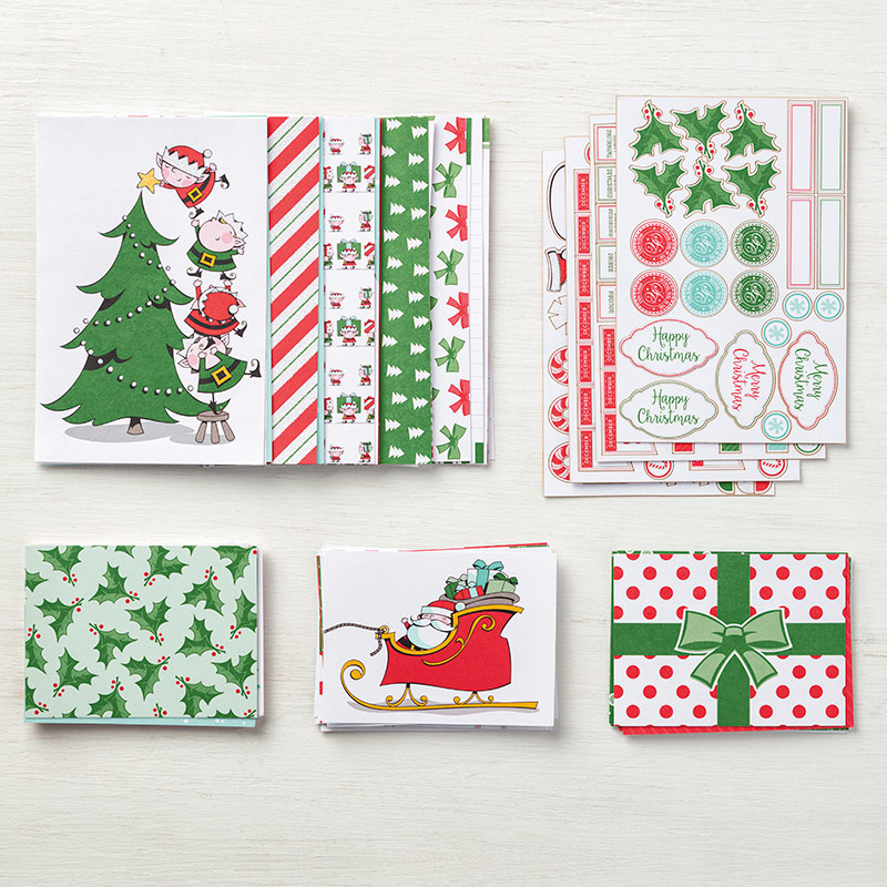 Santa's Workshop Memories & More Card Pack