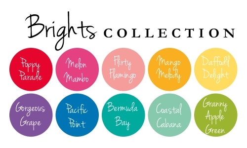 Image result for stampin up brights collection colors
