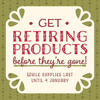 2015 Holiday Catalogue - Get Retiring Products Before They're Gone!
