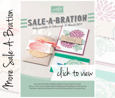 Sale-A-Bration Second Release 2017 | Stampin' Up!'s Biggest Sales Event - click to view PDF
