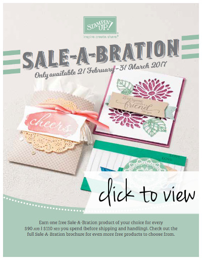 2017 Sale-A-Bration Second Release - click here