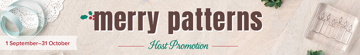 Merry Patterns Host Promotion (1 September-31 October)
