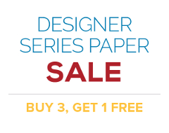 Designer Series Paper Sale | Buy 3, Get 1 Free