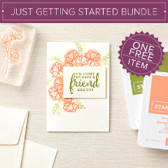 Just Getting Started Bundle - ONE FREE ITEM