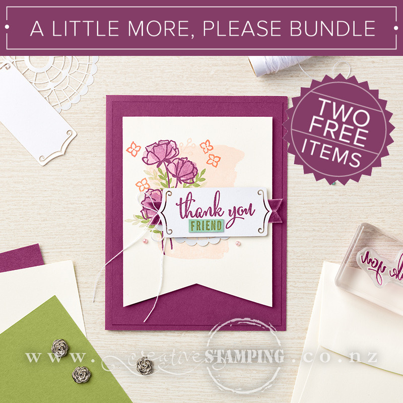 A Little More, Please Bundle - TWO FREE ITEMS