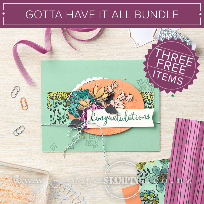 Gotta Have It All Bundle - THREE FREE ITEMS