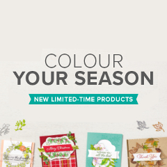 Colour Your Season - new limited-time products