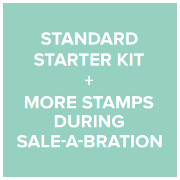 Standard Starter Kit + more stamps during Sale-A-Bration