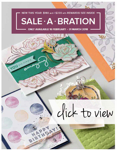 2018 Sale-A-Bration 2nd Release Brochure - click to view
