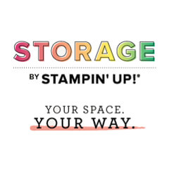 Storage by Stampin' Up!  |  Your Space Your Way