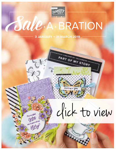 2019 Sale-A-Bration Brochure - click to view