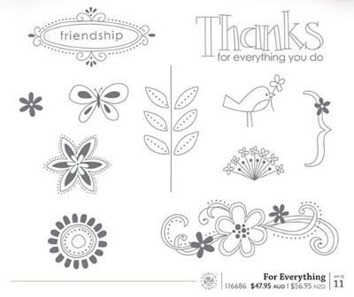For Everything stamp set