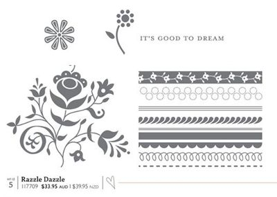 Razzle Dazzle stamp set
