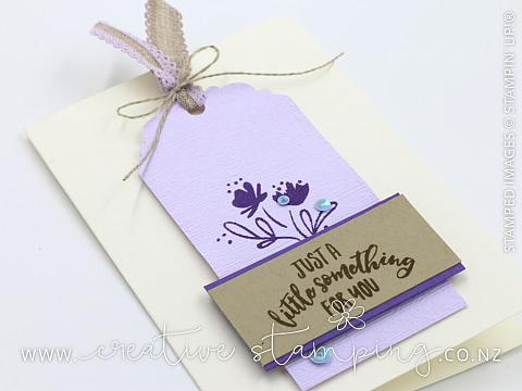 Purple Posy - Kristine McNickle - Independent Stampin' Up
